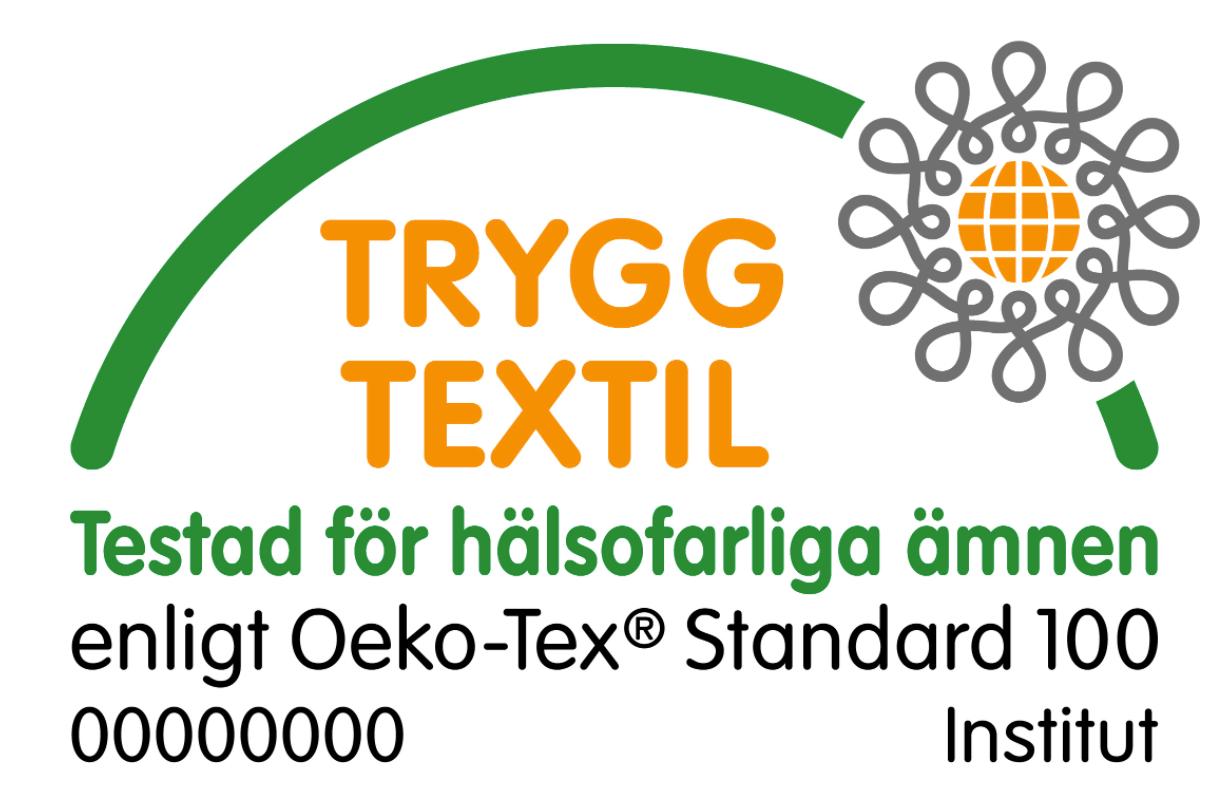 OEKO-tex 100 godkjent